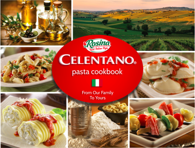 Promotional image for: FREE Celentano Pasta Cookbook