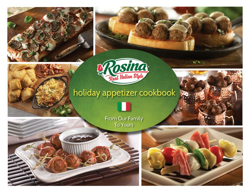 Promotional image for: Holiday Appetizer Cookbook