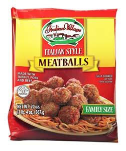 Image of Italian Village Italian Meatballs