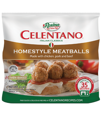 Image of Celentano Homestyle Meatballs