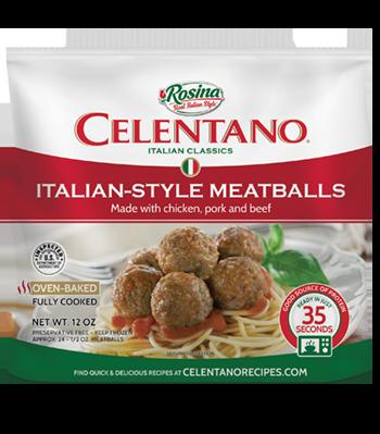 Celentano Italian Style Meatballs