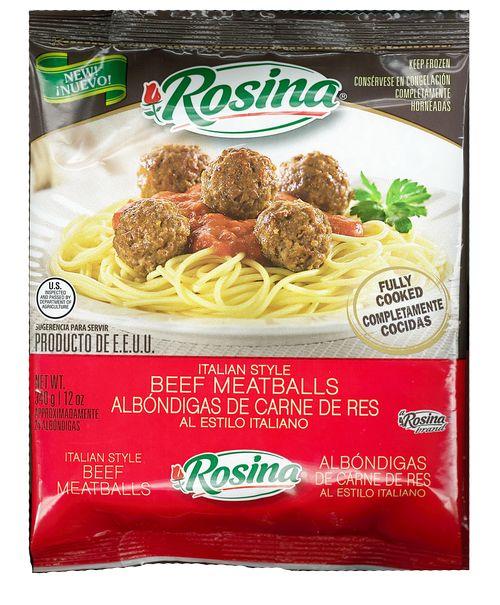 Rosina Italian Style Meatballs