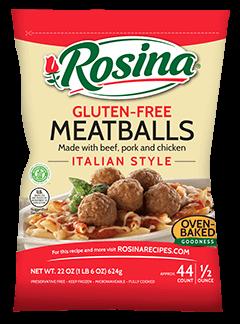 Rosina Gluten-Free Italian Style Meatballs