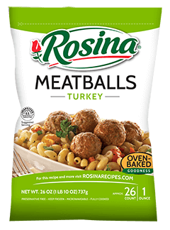Rosina Turkey Meatballs