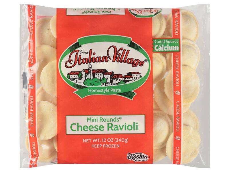 Italian Village Mini Round Cheese Ravioli
