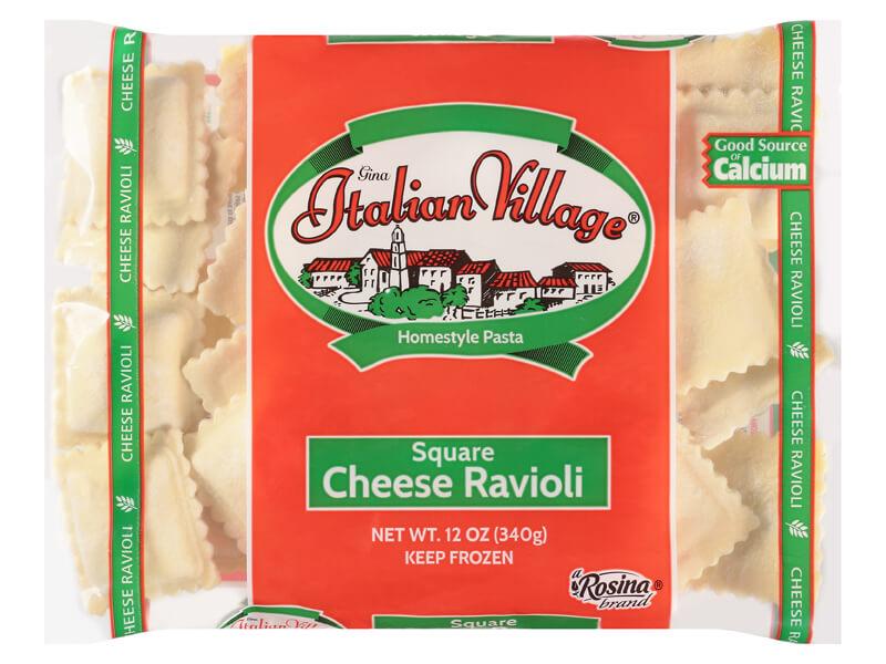 Italian Village Square Cheese Ravioli