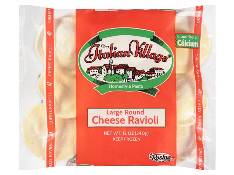 Italian Village Large Round Cheese Ravioli