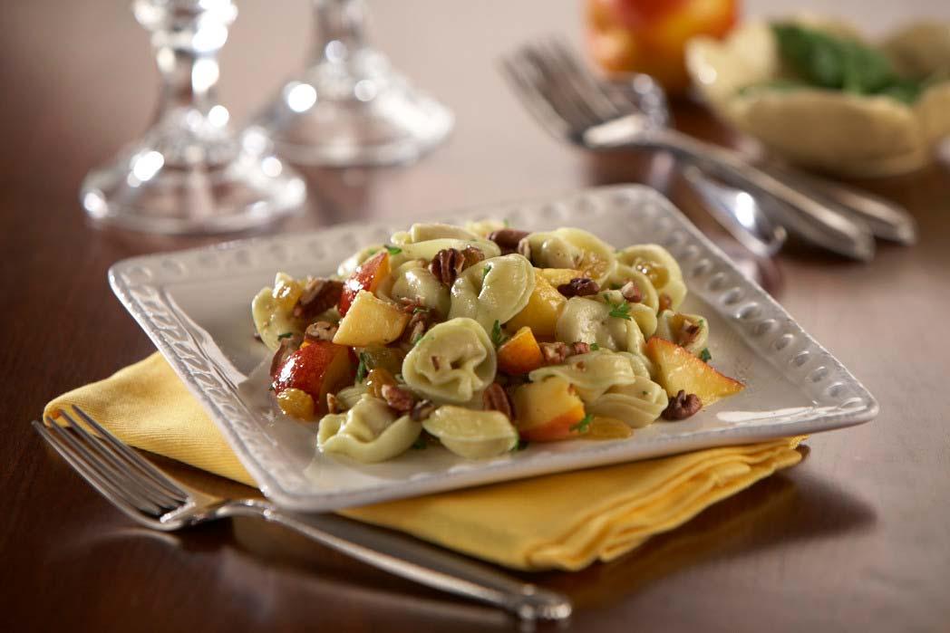 Tortellini Peach Salad Recipe Photo