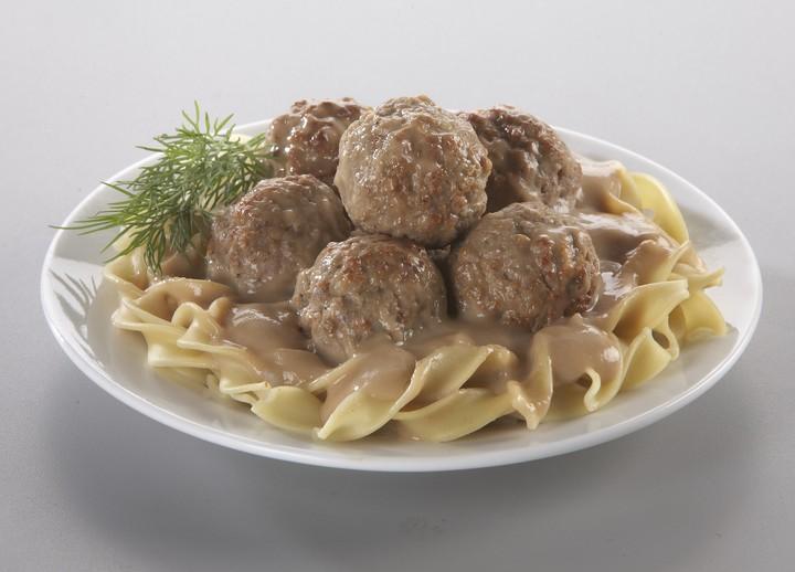Quick Meatball Stroganoff
